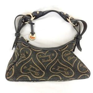 Dooney & Bourke Signature Hearts Medium Hobo Bag